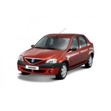 Geam lateral stânga față Dacia Logan 4D LIM / 5D  KBI MCV / 2D Pick-Up Geamuri laterale