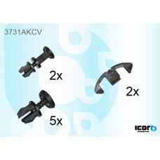 FORD TRANSIT 86-94 SET OF WS 9 CLIPS