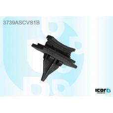 FORD TRANSIT V184 2000- WS SIDE CLIPS BLACK